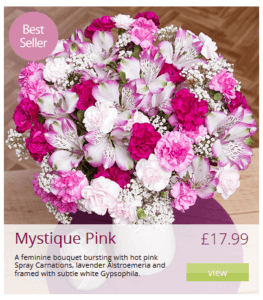 mystique-pink-bunches-flowers-by-post1
