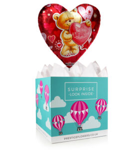 Valentine Balloon - Balloon in a Box Gifts - Valentine's Day Balloon Gifts - Valentine's Day Balloons - Valentine's Gifts